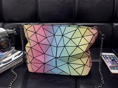 Diamond Handbag Elegant Design Women Luxury Shoulder Bag Handbag iridescence one size