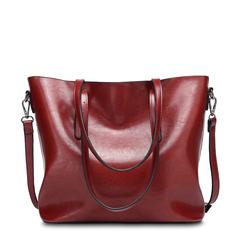 2019 new fashion bag ladies handbag leather shoulder bag red one size