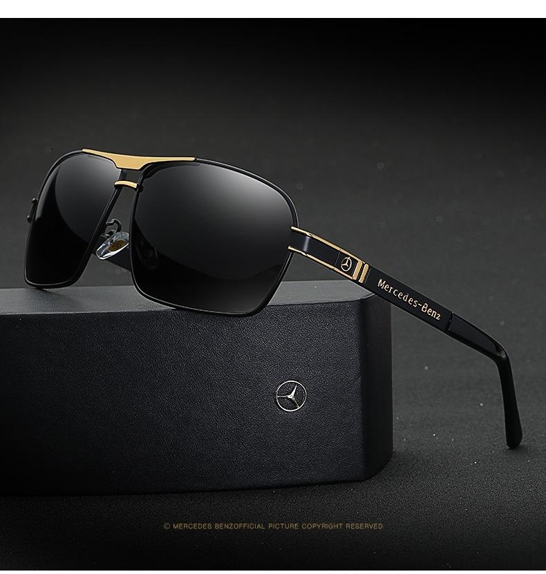 0bf6f2f2b69 2019 Mercedes-Benz Fashion Car Polarized Sunglasses Driving ...