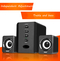 Home Theater Sound System Multimedia  Speaker Subwoofer  202 black 3W D202