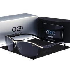 2019 Audi Fashion Car Polarized Sunglasses Driving Sunglasses Unisex Sunglasses 551 black-black one size