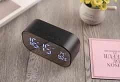 Portable Wireless Bluetooth Speaker Stereo FM Radio TF Card AUX Alarm S2 black one size