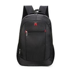 17 inch large capacity men's backpack laptop travel casual backpack 9902-black 17 inch
