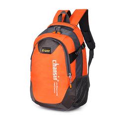 Large-capacity backpack travel backpack sports and leisure backpack unisex Orange one size