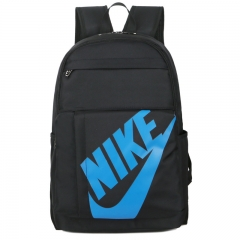 NIKE logo backpack laptop 15 inch travel leisure backpack youth trend 811 blue 15 inch