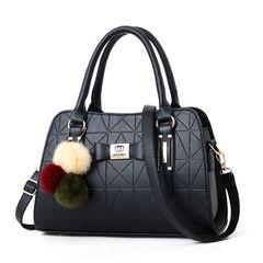 2019 new fashion ladies versatile handbag shoulder bag black one size