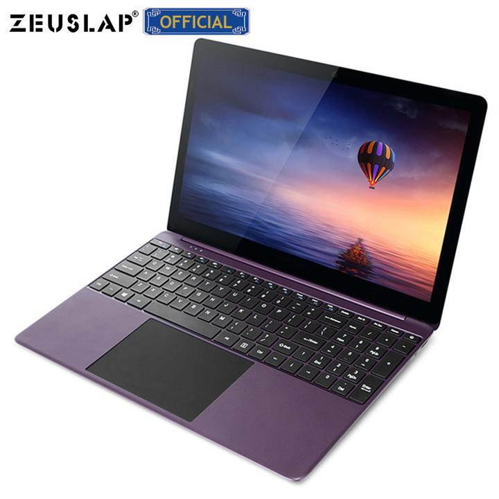 ZEUSLAP-X2 15.6'' Metal Ultrabook 1920x1080P Full HD IPS Screen 6GB RAM+64GB eMMC Intel CPU Laptop purple 6GB RAM 64G eMMC