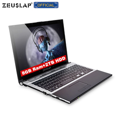 15.6inch intel core i7 8gb ram with ssd and hdd dual disks 1920x1080p full hd Laptop blue 8GB RAM + 64GB SSD + 750GB HDD