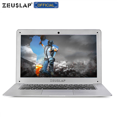 ZEUSLAP 14inch 4G RAM+500GB HDD Intel 1920X1080P FHD Ultrathin Notebook Computer Laptop silver 4gb ram+500gb hdd