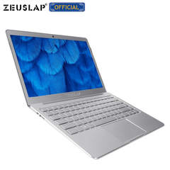 ZEUSLAP 8GB Ram+512GB SSD Quad Core CPU 13.3inch 1920*1080P Full HD IPS Ultrathin Laptop Notebook silver 8GB Ram+512GB SSD