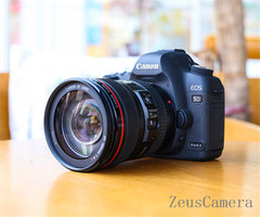 Refurbished Canon EOS 5D Mark II DSLR Camera with 24-105mm Lens Household Package 99% New