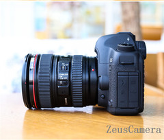 Refurbished Canon EOS 5D Mark II DSLR Camera with 24-70mm Lens Household Package 99% New