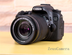 Refurbished Canon EOS 70D DSLR Camera with 18-55TM mm Lens Household Package 99% New