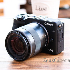 Refurbished Canon EOS M3 DSLR Camera with 18-55 and 25-18mm Lens Household Package 99% New