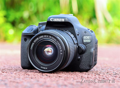 Refurbished Canon EOS 600D DSLR Camera with 18-55mm Lens Household Package 99% New