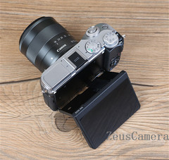 Refurbished Canon EOS M6 DSLR Camera with 15-45 and 25-18 mm Lens Household Package 99% New
