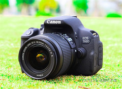 Refurbished Canon EOS 700D DSLR Camera with 18-55mm Lens Household Package 99% New