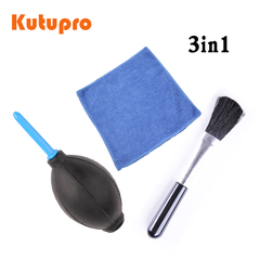 3in1camera cleaning kit camera professional + dust blower+ 1x Cleaning Cloth Kit For Canon Nikon 3 in 1 3 in 1