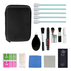 kutupro 16 in 1 Camera Cleaning Kit Clean for Digital Filter CCD cotton swab brush cleaning 16 in 1 16 in 1