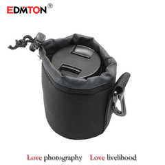 EDMTON Universal Matin Soft Video Camera Lens Bag Case For Canon Nikon Sony Black Wh . xl