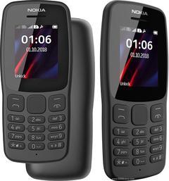 Nokia 106 Dual Sim Black black