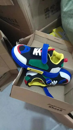 Causal Sports Shoes Green 26