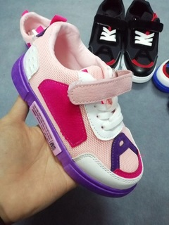 Causal Sports Shoes Pink 26
