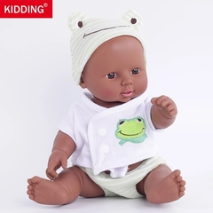 Dolls, dummy dolls, girl toys The green frog 30 cm in length