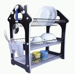 Dish Drainer Drying Rack - Sliver 3 Tier