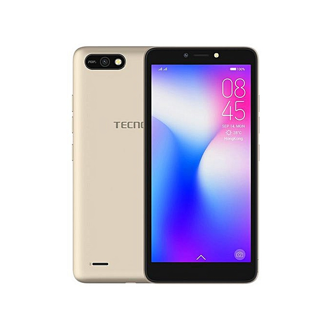 TECNO POP2 -5.5''- 8GB+1GB RAM- 8MP+5MP -(Dualsim) - Gold