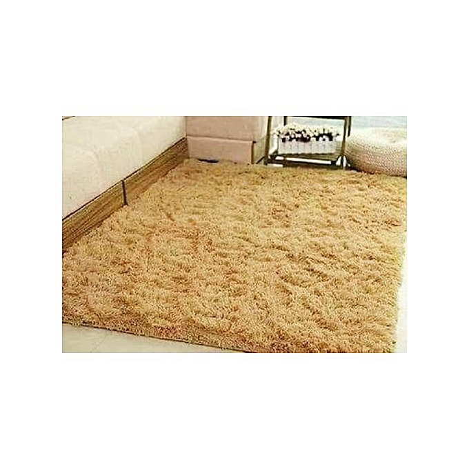 Fluffy Soft and Tender Carpet - Beige Beige 7*8