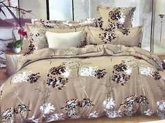 4 Pcs of Duvet Set ( 1 Duvet, 2 Pillow cases and 1 Bed-sheet ) multicoloured 5*6