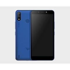 Itel P33 Plus Smartphone 6.0 Inch, 16+1GB, 5000MAH, 8+5MP camera, Dual Sim blue