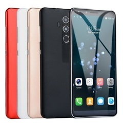 New mobile phone 4GB RAM + 32GB ROM 5.0 inch large screen mobile phone dual card red