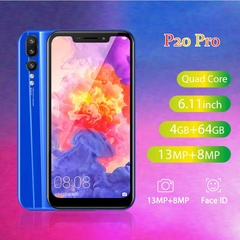 2019 New P20 Pro 6.11''Full Screen 4GB RAM 64GB ROM Android 7.0 3800mAh Unlocked Smartphone gold