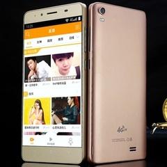 2019 new smart phone M5 5.0 inch phone mobile video HD big screen Hot Pink 5.0`