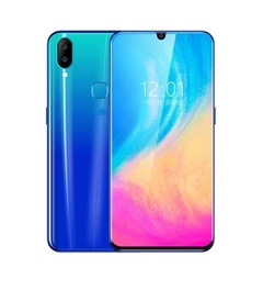 New X23 Full 6.3 Inch Ultra-thin Smartphone Face/Fingerprint  Unlock 6GB+128GB Android 9.1 Support blue