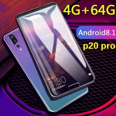 2019 New P20 Pro 6.11''Full Screen 4GB RAM 64GB ROM Android 7.0 3800mAh Unlocked Smartphone purple