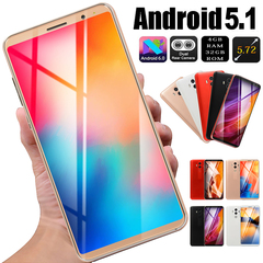 2019 New mobile phone 4GB RAM + 32GB ROM 5.72 inch large screen mobile phone dual card black 5.1'