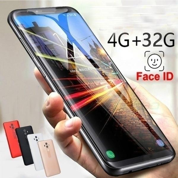 2019 hot mobile phone 4GB RAM + 32GB ROM 5 72 inch large screen mobile  phone dual card red 5 1' black 5 72'