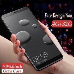 Mobile Phone 4GB RAM+32GB ROM 6.0 Inch / 5.0 Inch Dual Camera GSM 3G WCDMA black 6.0