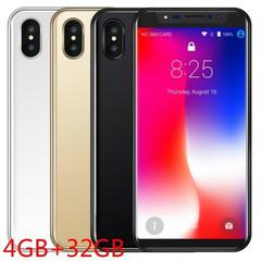 8X Face ID Smart Phone 5.8Inch Smartphone 18:9 1320x720 LCD Screen 4GB+32GB black