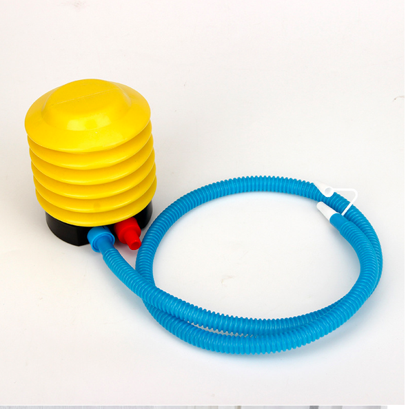 foot air pump  for inflatable sofa chair Party Wedding Balloon Inflator yellow