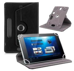 2PCS mobile phone tablet covers protective cases artificial leather black 218*162*12mm, 8''