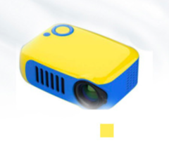 Portable Movie Projector HDMI USB, LED Mini 1080P Projector home theatre projector yellow 5*14*11 cm