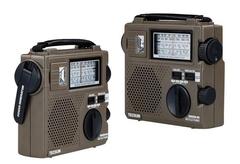 TECSUN GR-88 GR88 Radio FM / AM / SW Multiband Radio Receiver Hand Crank Dynamo Vintage Radio