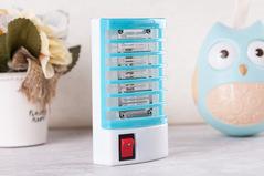 mini LED mosquito shock killer for 20 square area blue 10*6*3 cm 3w