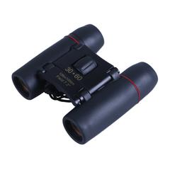 Mini 30x60 Binoculars Telescopes Outdoor travel Night Vision black +red m/film 10*9*4 cm