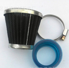 Mashroom head air filter for motorcycle  48mm connecting