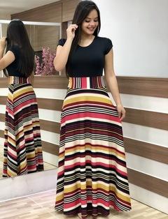 2019 Women Flower Printed Sexy Long/short sleeve dresses Ladies Dress xl colorful stripe